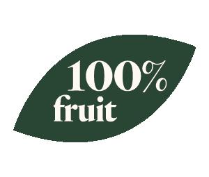 100 pourcent fruit purée Adamance