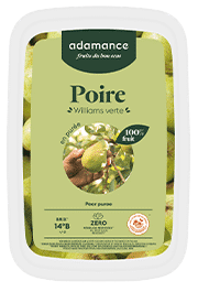 poire williams adamance